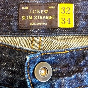 Men's J Crew slim straight 32x33